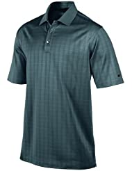 Nike M NK Dry Polo LC Victory Maillot manches courtes de golf pour homme, Bleu (Midnight Navy / White), XL