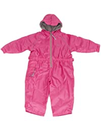 Hippychick Fleece Lined Waterproof All-in-One Suit - Pink, 3-4 Years
