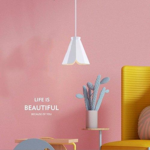 Die einfache Beleuchtung Moderne Pendelleuchte Kronleuchter Esstisch Lounge Studie Innenbeleuchtung, Yellow Light-a (Holz Esstisch Set Sockel)