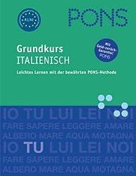 PONS Großer Anfängerkurs Italienisch, 4 Audio-CDs m. Lehrbuch