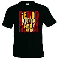 Camiseta Ironman - Millonario Playboy (Talla: TALLA-XXXL) - Cosmética y perfumes - Comparador de precios