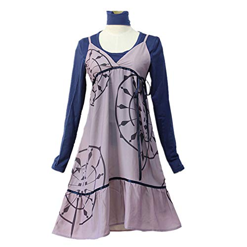 Prinzessin Leia Disney Kostüm - DXYQT Anime Cosplay Kostüme Kleid Langen Rock Halloween Party Uniform Mittelschüler Prinzessin Kleid,3PCS-M