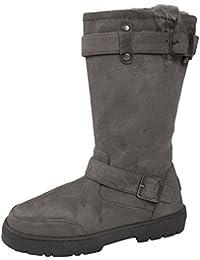 683b582b6df2 Ella Lora Dora Womens Faux Fur Sheepskin Snugg Snow Boots