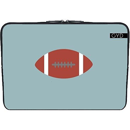 "Neopren huelle Laptop 15.6"" inch - American Football by ilovecotton"