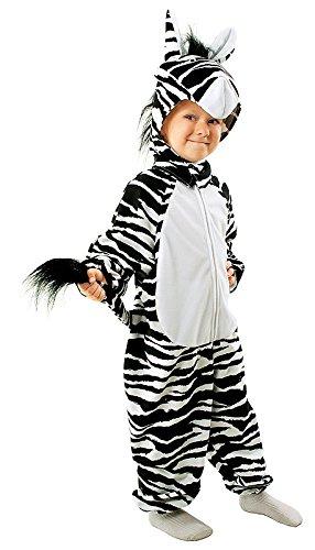 Ga.ma Zebra Kostüm für Kinder - Zebrakostüm Kind - Zebra Kostüm für Jungen und Mädchen Fasching Karneval ()