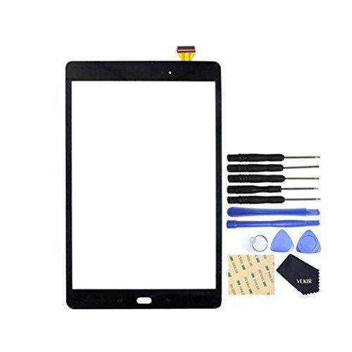 galaxy tab a display VEKIR Touch Reparatur Glasschirm für Samsung Galaxy Tab A 10.1 (2016) T580 T585 (Schwarz)