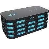 Haut-parleur stéréo Bluetooth Audio Dynamix® MESH2 - bleu- 12 h de lecture, portée Bluetooth de 15 m et basses accentuées