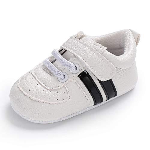 Chaussures Bébé Binggong Chaussures Chaussures de Sport Anti-dérapant Stan Smith Crib, Chaussures Bébé Marche Fille Baskets Basses Mixte Bébé pour Bébé