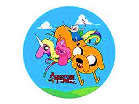 Adventure Time, Flying Rainacorn & Co, Officially Licensed - BUTTON - Kids Anime Show Cartoon TV Series