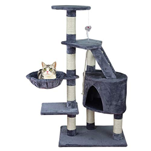 MC Star Árbol para Gato con Rascador de 120cm