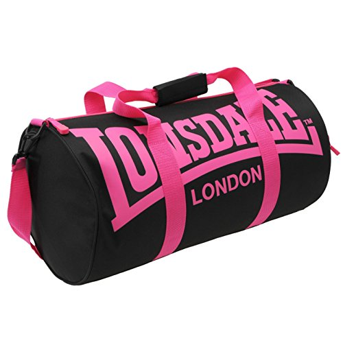 Lonsdale - Bolsa de deporte (26 x 52 x 26 cm)