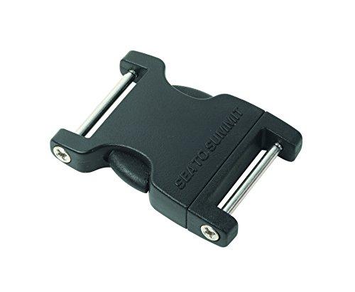 Black Plastic Highlander Quick Release Buckle 38mm Rucksack Backpack