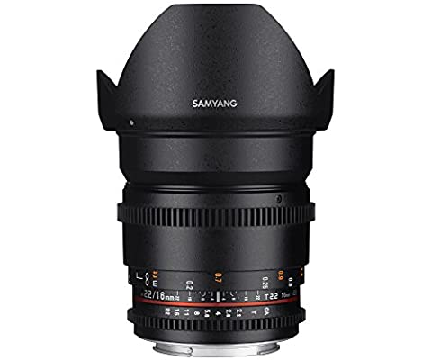 Samyang 16 mm / T2.2 ED AS UMC CS VDSLR II Objectifs