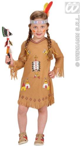 Generique - Indianerinnen-Kostüm für Mädchen 80/92 (1-2 Jahre)