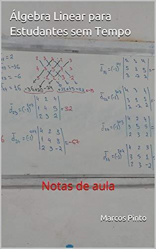 Álgebra Linear para Estudantes sem Tempo: Notas de aula (Portuguese Edition)