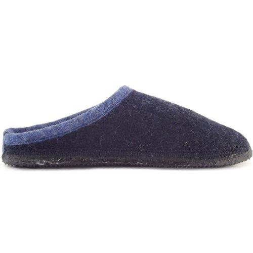 Giesswein Dannheim 42084, Pantofole unisex adulto Blu (Night Blue)