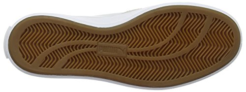 Puma Match Vulc Modern Heritage Unisex-Erwachsene Sneakers Grau (glacier gray-white-gum 03)