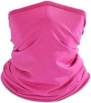 LUVNFUN 12-in-1 Headwear Neck Gaiter for Men Buff-Designed Bandanas Headwrap Multifunctional Face Shied for Du