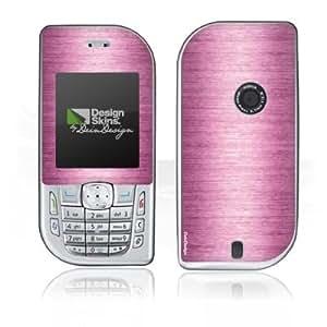 Handy Design Skin Folie Aufkleber Nokia 6670 DesignSkins - Shiny Metal - Pink