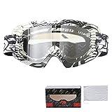 KnBoB Skibrille Entspiegelt Motorradbrillen Für Biker Sport Brille Damen A04-Q