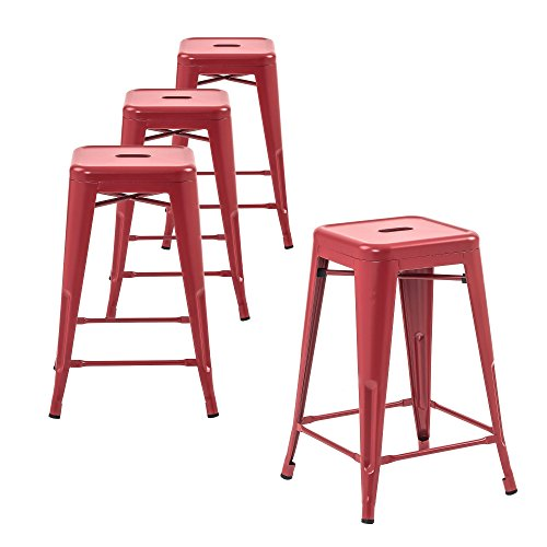 Bar Furniture Learned 2pcs Round Pine Wood Natural Finish Bar Stool Wood Color Clear-Cut Texture Bar Chairs