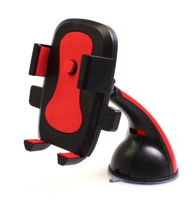 inShang 360° Supporto Auto Smartphone s Porta Cellulare Stand da Tavolo Holder, Supporti, Culla GPS con potente ventosa per Apple iPhone 7 / 7plus, 6 / 6Plus 5 / 5S / 5C / 4 / 4S, Samsung Galaxy S6 / S5 / S4 / S3 ecc, (qualsiasi telefono da 4 - 6.3 ')