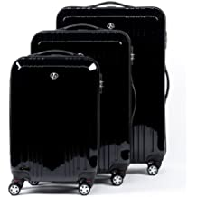 FERGÉ Conjunto de tres maletas CANNES - ABS & PC - 3 trolley rígidas - 3 sizes - equipaje con 4 ruedas (360) para (51 x 77 x 30 cm)