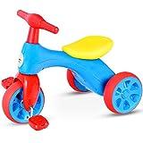 GOPLUS Mini Dreirad Laufrad Lauflernrad Kinderlaufrad laufräder ab 2 Jahr Farbwahl (Blau)