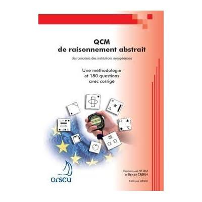Livre QCM de raisonnement abstrait