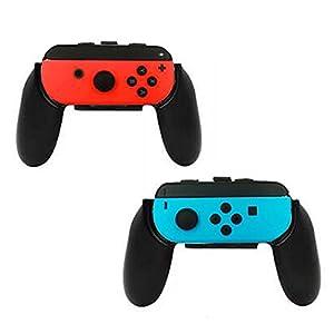 Walway Nintendo Schalter Joy-Con Grips {Set von 2Verschleißfest Controller Grips/Joy-Con Griff/Daumenauflage {L & R} für Nintendo Schalter