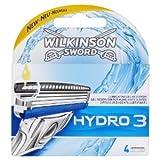 Wilkinson Lots de 3 x 4 lames de rasoir Hydro 3
