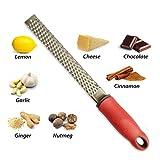 Rallador, rallador de queso,laminador de queso, rallador limon, rallador verduras, chocolate, nuez moscada...etc, acero inoxidable 18/8, apto para lavavajillas