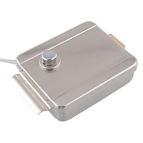 "Amzdeal® 7"" Wireless Video Door Phone Doorbell Intercom Entry System Kit with 1 Camera 1 Monitor + Electric Strike Lock"