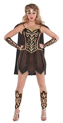 Kriegerprinzessin der Antike Kostüm Damen Gr. (Land Welt Fancy Dress Kostüme)