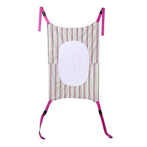 Sécurité bébé Hamac, Fuibo Infant Sécurité Hamac pour bébé Imprimé nouveau-né pour enfant amovible Lit Portable violet