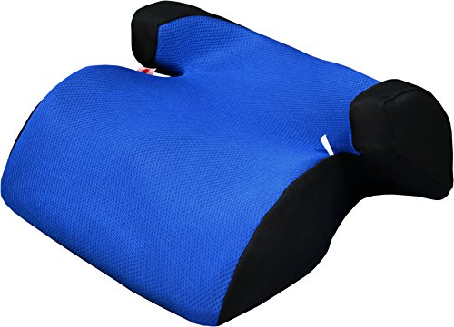 Phenix Techno Polystyrol Autositzerhöhung, Mesh Bezug, ECE 44/04, Gruppe II und III, 15-36 kg, geprüft - blau