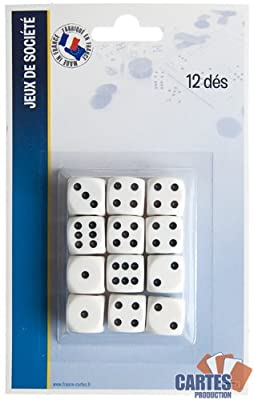Set de 12 dés