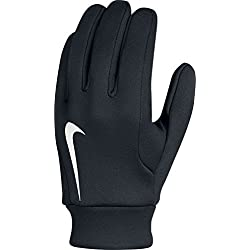 Nike Hyperwarm Field Player Glove Guantes de Portero, Unisex adulto, Negro / Blanco, M