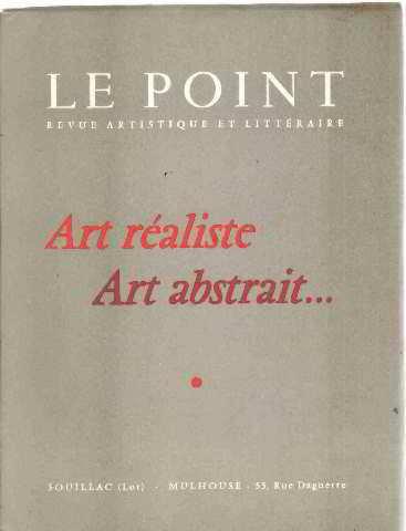 Art réaliste art abstrait.