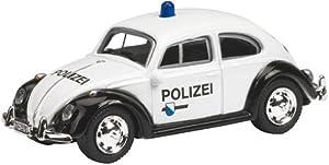 Schuco 452550200 Edition 1:87 - VW Beetle Policía Zurich