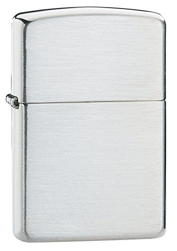 Zippo Windproof Lighter - Brushed Sterling Silver