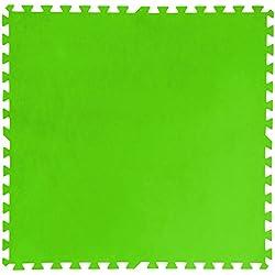 Bestway 58265 - Pack de 8 protectores de suelo para piscinas, de 81 x 81 cm