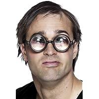 Vergrößere Deine Augen Brille Schwarz, One Size