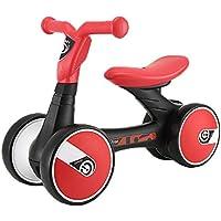 Bicicleta de Equilibrio Bicicleta sin Pedales Balance Bike, Plástico Ecológico Súper Duradero, para Niños