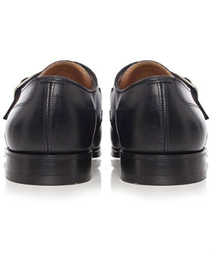 Cheaney and Sons Moorgate Monk Strap Shoes Noir Noir