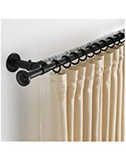 Adjustable Length Shower Curtain Tension Rod