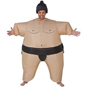 Aufblasbares Sumo Ringer Kostüm