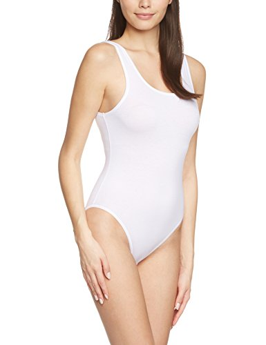 Calida Damen Arm Comfort Body, Weiß (Weiss 001), 42 (Herstellergröße: S = 40/42)