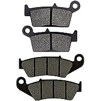 AHL 2 paires Plaquettes de frein kit pour yamaha YZ 125/ 250 K/L/M/N/P 1998-2002