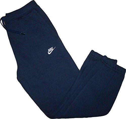 Nike Brushed Fleece Pant Hose Trainings- Jogginghose Blau 80% Baumwolle 20% Polyester Größe Little Boys` Large = 116-122 cm / 6-7 Jahre (Nike Fleece Kids)